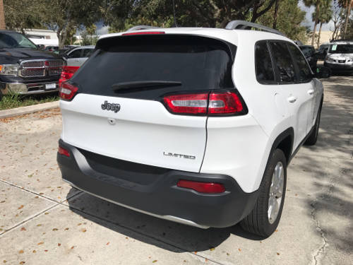 Used JEEP CHEROKEE 2017 WEST PALM LIMITED
