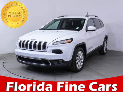 Used JEEP CHEROKEE 2017 MIAMI LIMITED