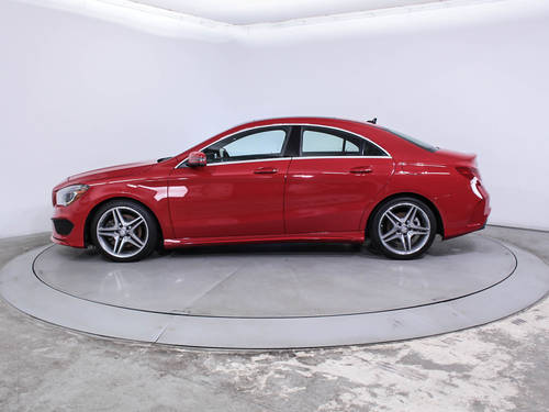 Used MERCEDES-BENZ CLA CLASS 2014 HOLLYWOOD CLA250