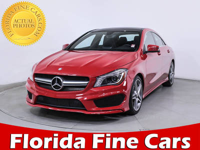 Used MERCEDES-BENZ CLA CLASS 2014 HOLLYWOOD Cla250 Sport