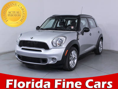 Used MINI COOPER COUNTRYMAN 2014 MIAMI S