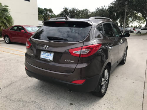 Used HYUNDAI TUCSON 2014 WEST PALM LIMITED