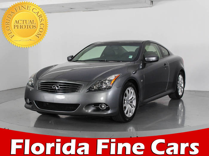 Used INFINITI Q60 2014 WEST PALM
