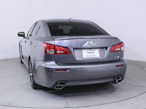 Used LEXUS IS F 2012 WEST PALM