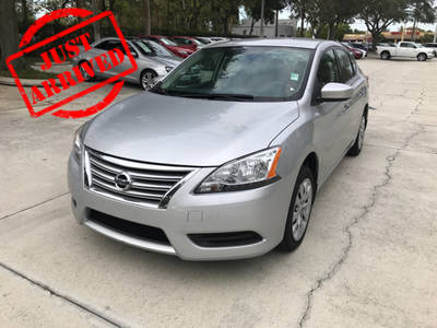 Used NISSAN SENTRA 2014 WEST PALM SV