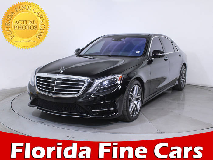 Used MERCEDES-BENZ S CLASS 2015 WEST PALM S550 4MATIC