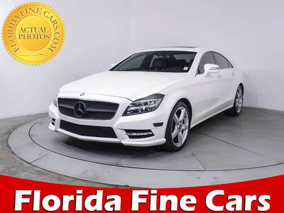 Used MERCEDES-BENZ CLS CLASS 2014 WEST PALM CLS550