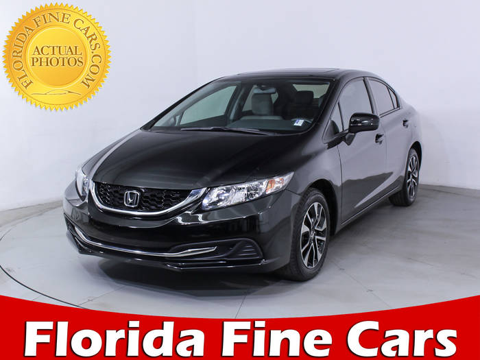 Used HONDA CIVIC 2014 HOLLYWOOD EX