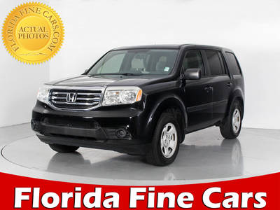 Used HONDA PILOT 2014 WEST PALM LX