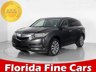 Used ACURA MDX 2015 WEST PALM TECHNOLOGY PACKAGE