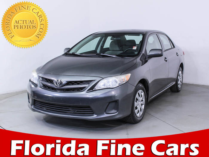 Used TOYOTA COROLLA 2011 WEST PALM Le