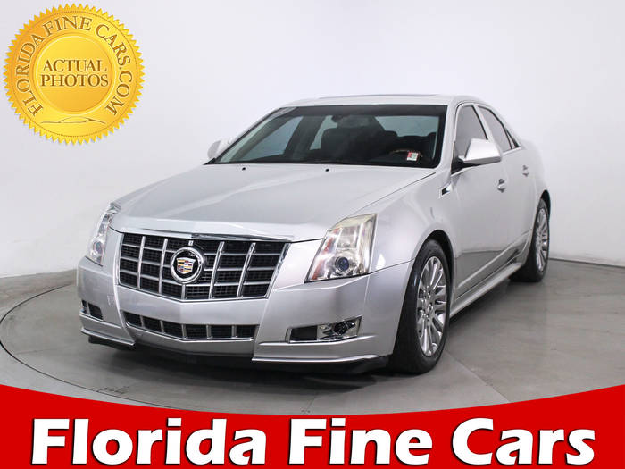 Used CADILLAC CTS 2012 MIAMI PERFORMANCE