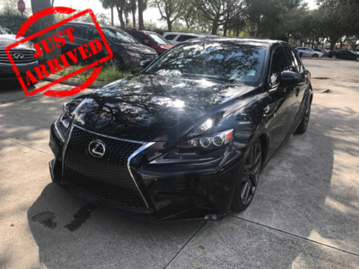 Used LEXUS IS 250 2014 WEST PALM F SPORT