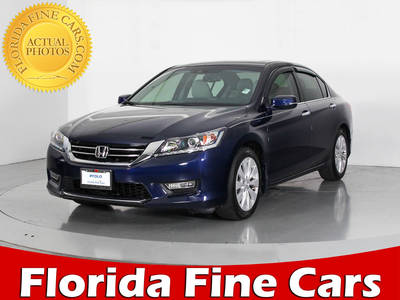 Used HONDA ACCORD 2013 WEST PALM Ex-L V6