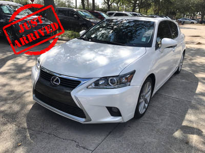 Used LEXUS CT 200H 2015 WEST PALM HYBRID