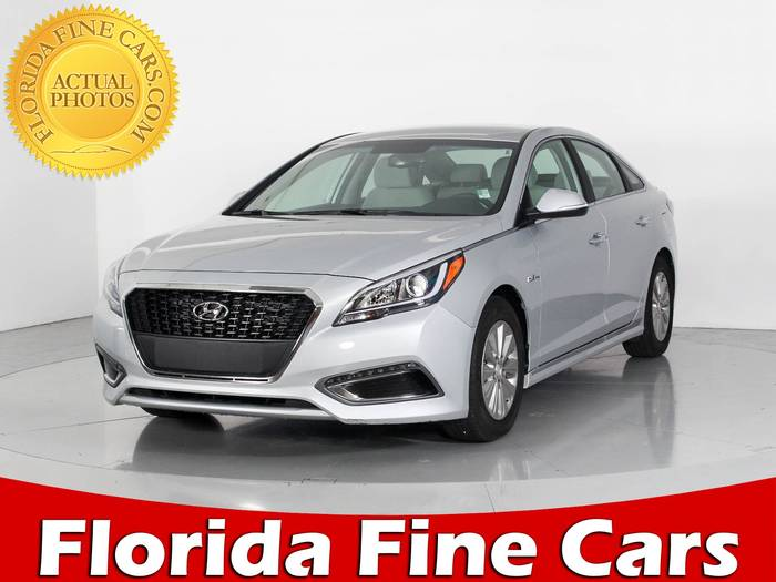 Used HYUNDAI SONATA HYBRID 2017 WEST PALM SE