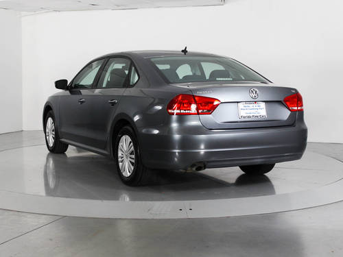 Used VOLKSWAGEN PASSAT 2014 WEST PALM S