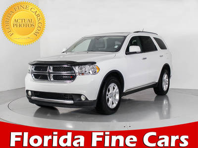 Used DODGE DURANGO 2013 WEST PALM CREW AWD