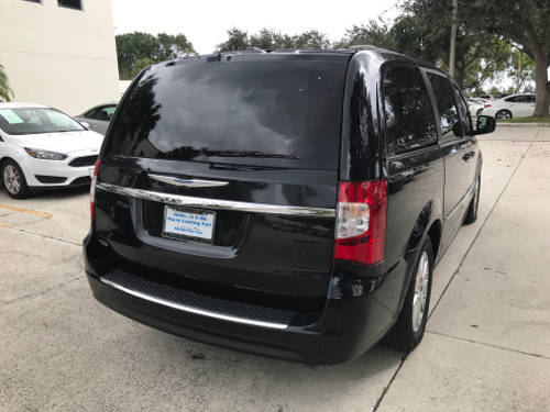 Used CHRYSLER TOWN AND COUNTRY 2016 WEST PALM TOURING
