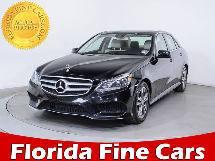 Used MERCEDES-BENZ E CLASS 2015 HOLLYWOOD E350