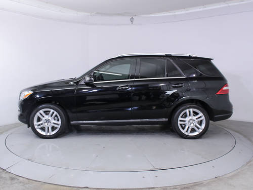 Used MERCEDES-BENZ M CLASS 2014 HOLLYWOOD ML350