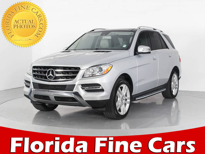 Used MERCEDES-BENZ M CLASS 2015 WEST PALM ML350