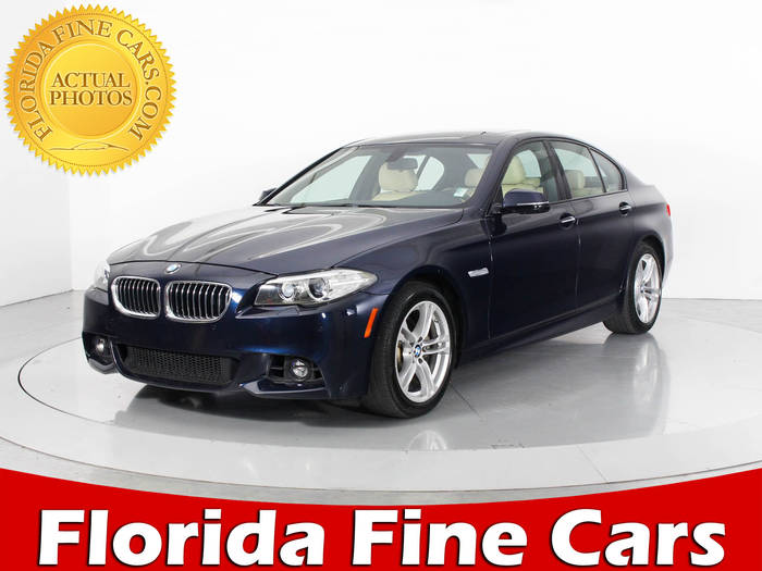 Used BMW 5 SERIES 2014 WEST PALM 528I M SPORT