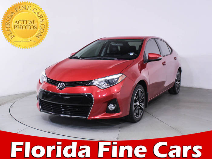 Used TOYOTA COROLLA 2016 HOLLYWOOD S Plus