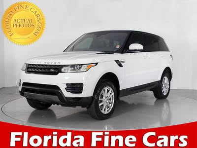 Used LAND ROVER RANGE ROVER SPORT 2016 WEST PALM SE