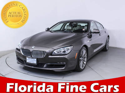 Used BMW 6 SERIES 2013 MIAMI 650I XDRIVE GRAN COUPE
