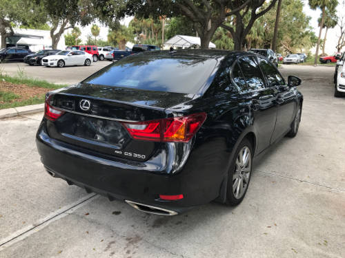 Used LEXUS GS 350 2013 WEST PALM