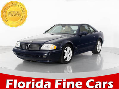 Used MERCEDES-BENZ SL CLASS 2000 WEST PALM SL600