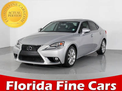 Used LEXUS IS 250 2014 WEST PALM BASE