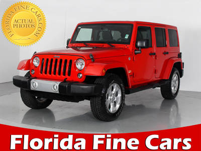 Used JEEP WRANGLER UNLIMITED 2015 WEST PALM SAHARA