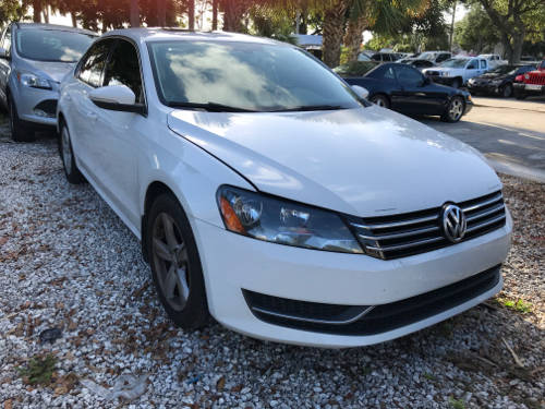 Used VOLKSWAGEN PASSAT 2012 WEST PALM SE