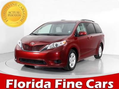 Used TOYOTA SIENNA 2015 HOLLYWOOD LE