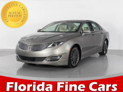 Used LINCOLN MKZ 2015 WEST PALM HYBRID