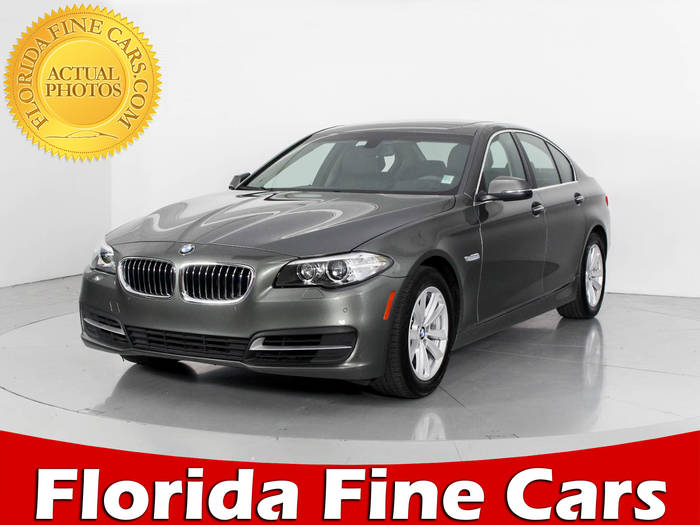 Used BMW 5 SERIES 2014 WEST PALM 528I