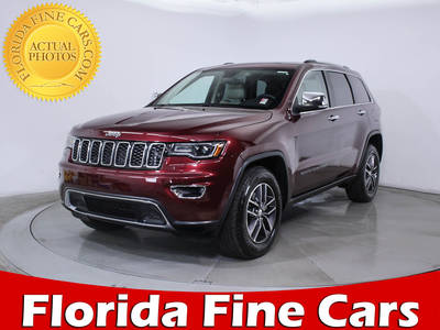 Used JEEP GRAND CHEROKEE 2017 MIAMI LIMITED