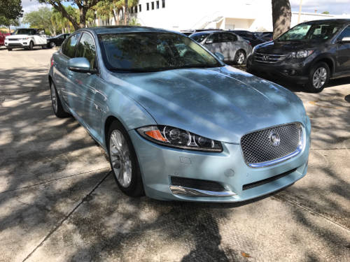 Used JAGUAR XF 2013 WEST PALM SUPERCHARGED