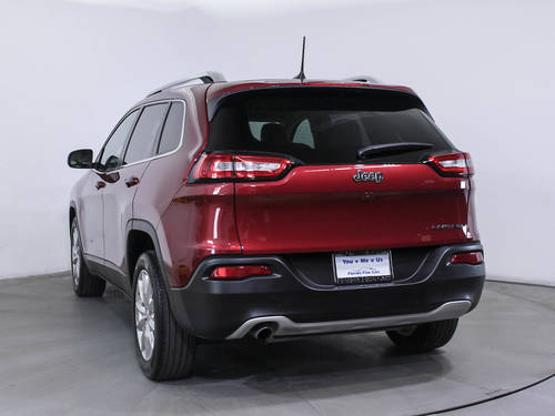 Used JEEP CHEROKEE 2017 HOLLYWOOD LIMITED