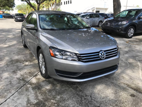 Used VOLKSWAGEN PASSAT 2013 WEST PALM WOLFSBURG
