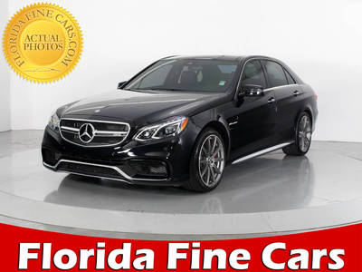 Used MERCEDES-BENZ E CLASS 2016 WEST PALM E63 AMG S 4MATIC