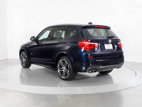 Used BMW X3 2015 WEST PALM XDRIVE28I