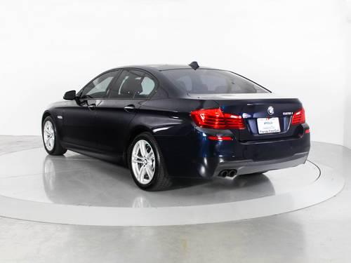 Used BMW 5 SERIES 2014 WEST PALM 528I M SPORT