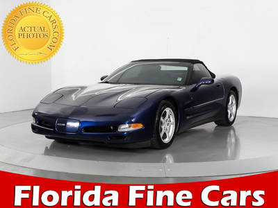 Used CHEVROLET CORVETTE 2000 WEST PALM CONVERTIBLE