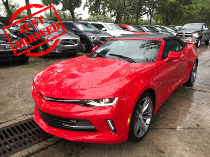 Used CHEVROLET CAMARO 2017 WEST PALM 1LT