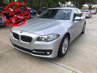 Used BMW 5 SERIES 2016 WEST PALM 528I