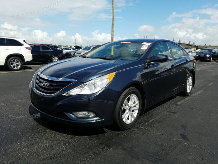 Used HYUNDAI SONATA 2013 HOLLYWOOD GLS