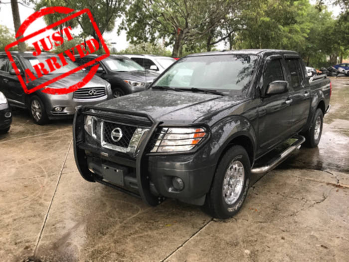 Used NISSAN FRONTIER 2012 WEST PALM SV